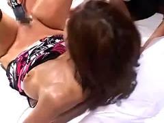 Asian mega pussy head fisting
