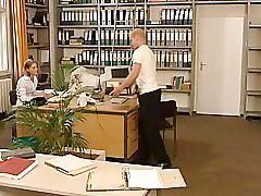 Anja juliette laval - sexy german secretary fucks her workmate