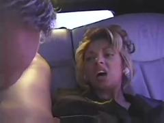 Big boobed lady fucked in car and bed