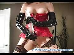 fetish, milf, anal, shandafay, mom, kink, ass-fuck, pegged, canadian, amateur, housewife, cum-on-ass, cumshot, gloves, latex, stockings, dildo, toys