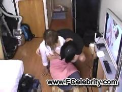 Teen blowjob in hostel