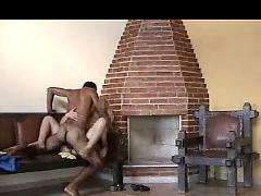 Interracial in brazil - amateur homemade