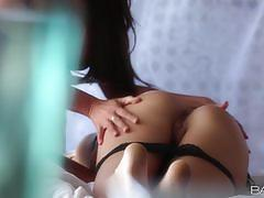 Babes enjoy girl on girl with natalie vegas an...