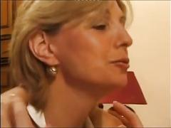 Charming blonde mature 1