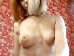 Long show cream body and pussy