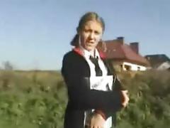 Polish teen blowjob