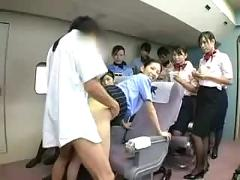 Flight stewardess special service