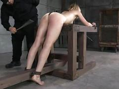 dildo, vibrator, spanking, forced-orgasm, caning, tickling, hitachi, ass-hook, pogo, nipple-clamps, legs-spread, pussy-whipping, metal-bondage, single-tail