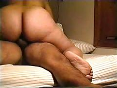Hot ass babe riding cock