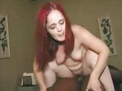 Red hair midget sucking big cock