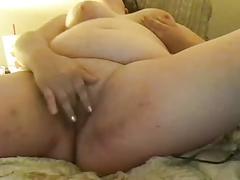 Young fatty masturbates on cam