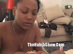 Worlds prettiest black pussy fucked & sucked part2