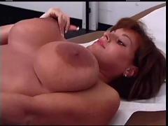 Busty nurse and redhead