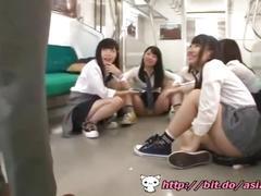 asian, bondage, public, gangbang, uniforms, school, japanese, old/young, outside, bdsm, train, blowjob, best blowjob ever, teen, young, skirt, uniform, japanese schoolgirl, korean