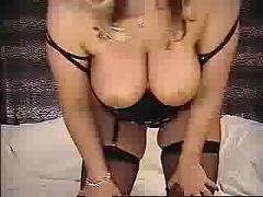 Sexy milf pleasuring herself