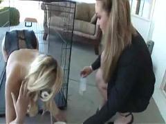 Aline & her pet kitty annette schwarz