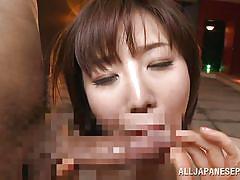 Making my nippon whore moan