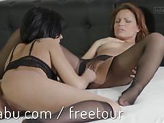 Nutabu lesbian lover fucks her gf pussy