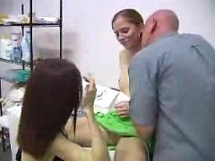 Mother and father fucks younger daughter