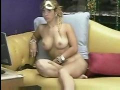 blonde, bigtits, solo, teasing, softcore