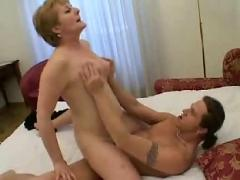 Mom and boy passionate hard fucking