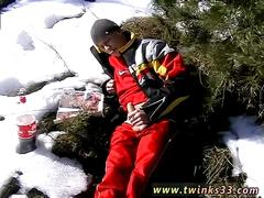 Home made masturbation for men gay roma smokes in the snow
