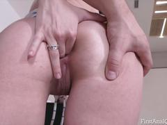 Young babe sofy soul sold her anal virginity - first anal qu