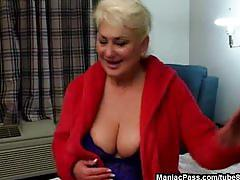 Black fuck rod for busty mature