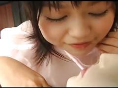 Fujima yukari play with doll