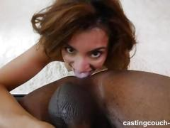 Babe gets wobbly legs after all the orgasms from this bbc