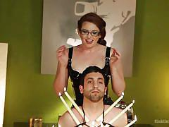 milf, bdsm, latex, redhead, mistress, instruction, tied up, candles, shibari, rope bondage, educational, kink university, kink, jay wimp, daisy ducati, ms nikki nefarious