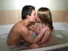 Bathroom teen fuck