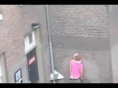 Street fuck in amsterdam ( outdoor teen schoolgirl doggy nude chick free video xxx )