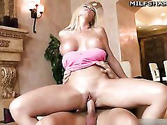 Hardcore fuck with busty blond milf evita pozzi
