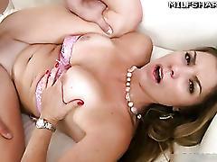 Milf pornstar kendall fucks off
