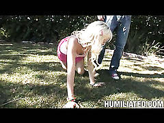 Dirty slut eden thought she knew it all till she got gagged and tied!