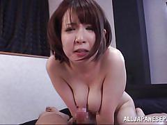 Hot slut gets fingered in her pussy and butt