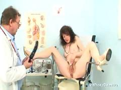 Mature karla needs her extremely hairy old pussy examined