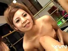 6 japanese girl massage