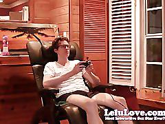 Lelu lovefucking away from video games
