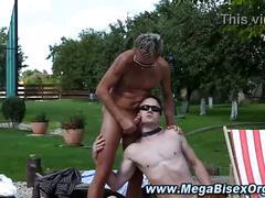 Hot gay fuck orgy cumshots
