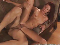 Hot swinger sex with milf