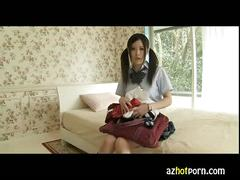 Azhotporn.com - hot student will be yours for a short time