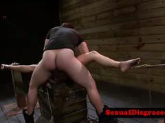 Petite bdsm bondage babe fucked roughly
