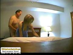 Naughty wife homemade sex