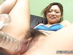 dildo, hot, pornstar, brunette, wet, closeup, vibrator, toys, hairy, asian, cute, japanese, reality, japan, kinky, jav, uncensored