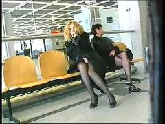 Euro public lesbians