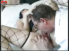 Young girl fucks older man
