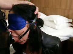 Full movie -spider gag extreme drooling face fuck- italian girl