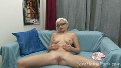 amateur, blonde, masturbation,